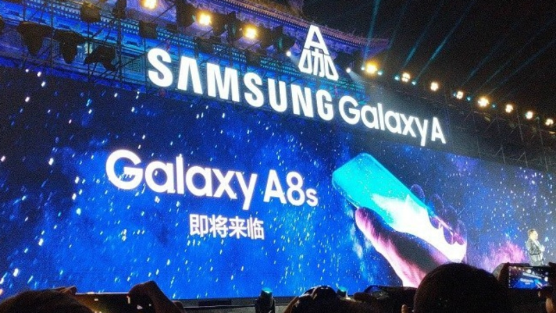 Samsung Galaxy A8s With a Display Hole Design for Selfie Camera Teased