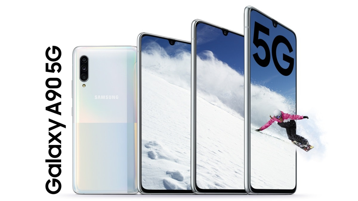 Samsung Galaxy A90 5G With Snapdragon 855 SoC, 4,500mAh Battery Launched:  Price, Specifications | Technology News