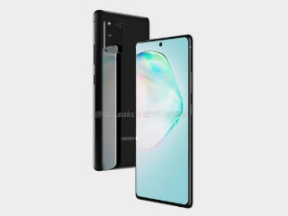 Samsung Galaxy A91 Leaked Renders Show Square-Shaped Rear Camera Module, Hole-Punch Display Design