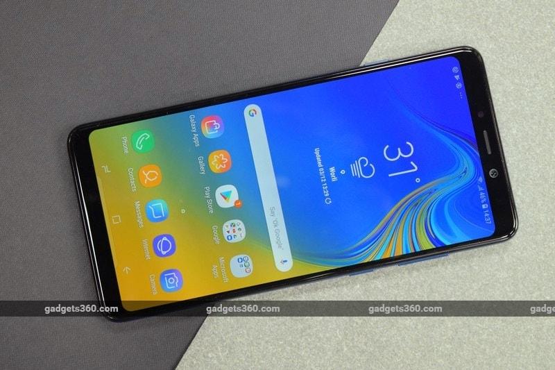 Samsung Galaxy A7 (2018), Galaxy A9 (2018) Price in India Cut