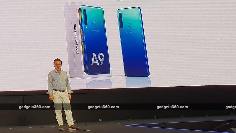 Samsung Galaxy A9 (2018) With Quad Rear Camera Setup