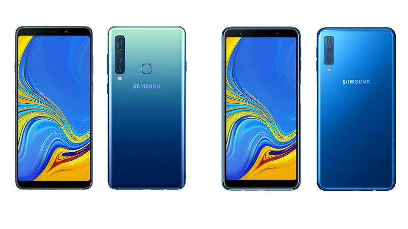 Samsung Galaxy A9 2018 Vs Galaxy A7 2018 Price In India