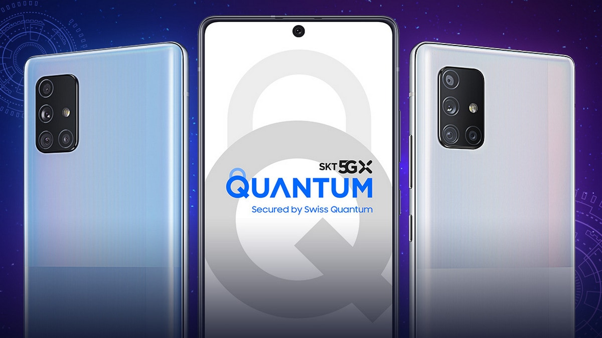 Samsung Galaxy A Quantum With Quantum Encryption Technology Launched