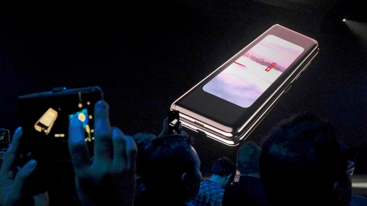Image result for samsung fold launch south korea