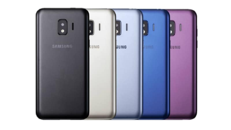 Samsung Galaxy J2 Core Render Surfaces, Highlights 5 Colour Options, Plastic Back