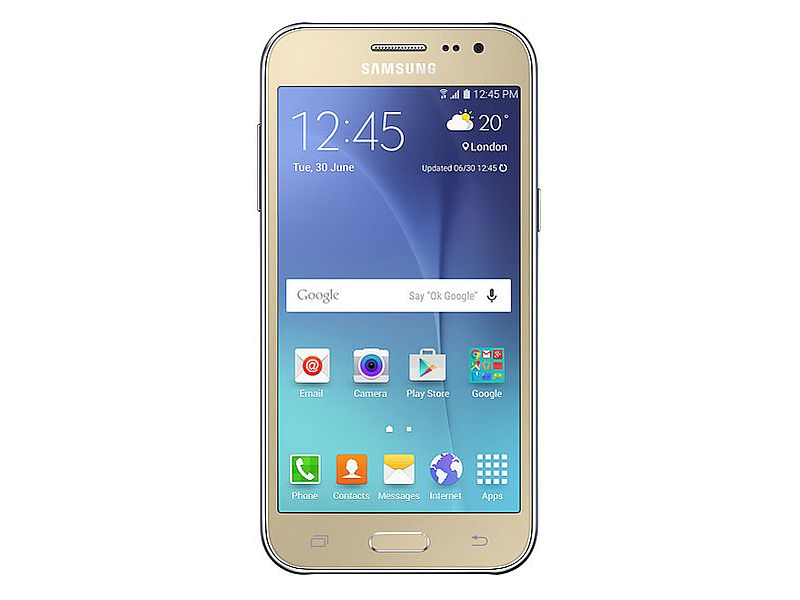 samsung s galaxy j2 dtv is its first phone with a digital tv tuner ndtv gadgets360