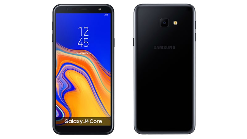 Samsung Galaxy J4 Core Running Android Go With 6-Inch HD+ Display, 3,300mAh Battery Unveiled
