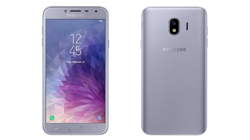 Samsung Galaxy J4 With Selfie Flash Launched in India: Price, Specifications, Features