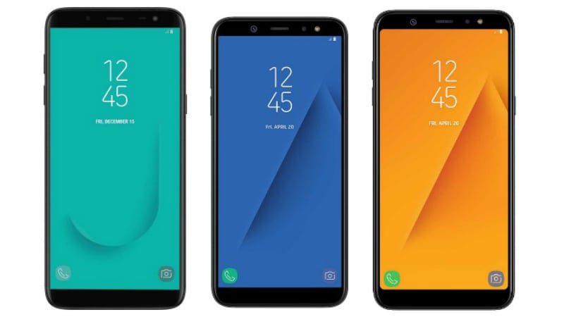 Samsung Galaxy J6, Galaxy A6, and Galaxy A6+ Go on Sale in India Today: Price, Launch Offers