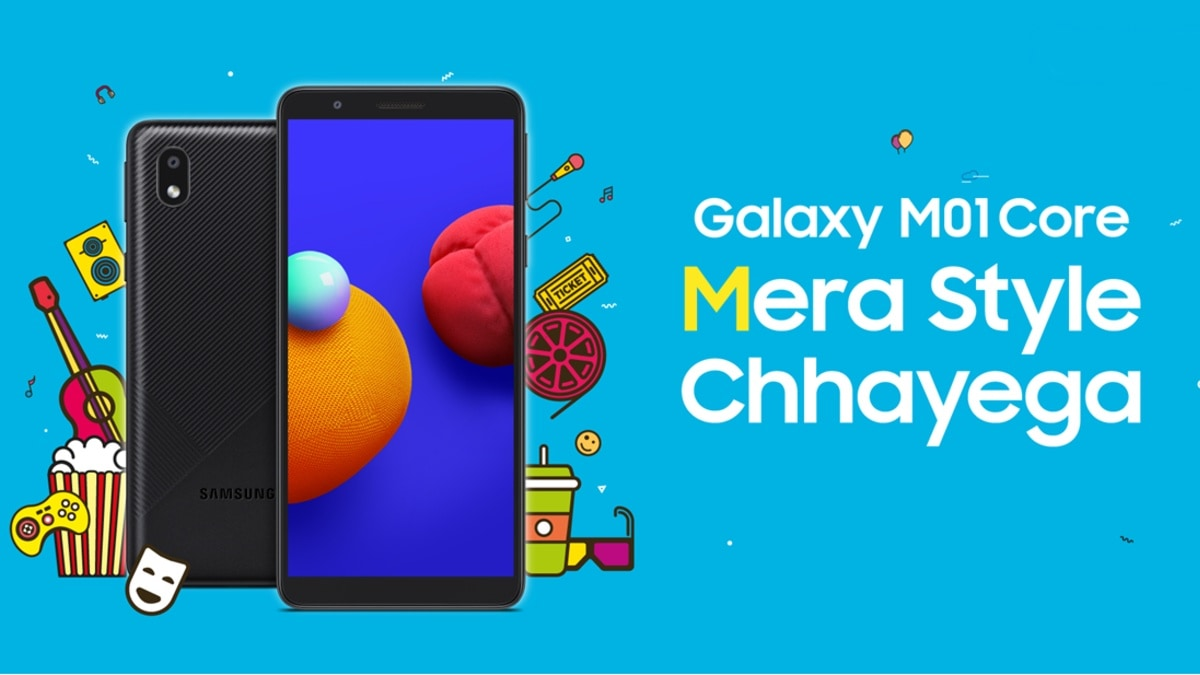 Image result for Galaxy M01 Core