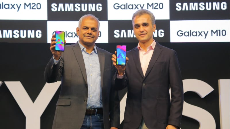 Samsung Galaxy M10, Galaxy M20 With Infinity-V Display Launched: Price in India, Specifications