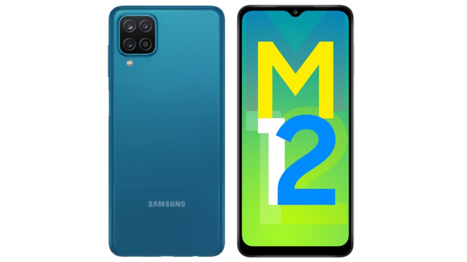 Samsung Galaxy M12 With 6,000mAh Battery, Quad Rear Cameras Launched in India: Price, Specifications