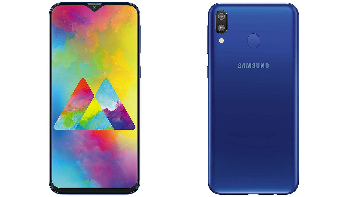 Samsung Galaxy M20 Goes on Sale in India Today via Amazon, Samsung Online Shop With Rs. 1,000 Price Drop: Check Price, Offers