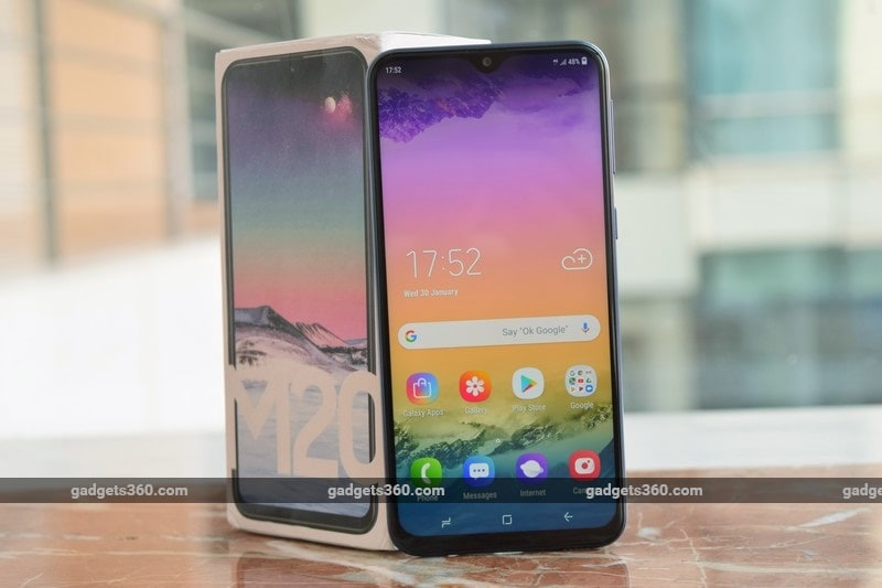 Samsung M20, Galaxy M10 to Go on Sale for First Time in India Today
