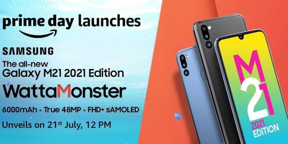 Samsung Galaxy M21 2021 Edition Launch Date in India Set for July 21, Amazon Reveals Upgraded Camera