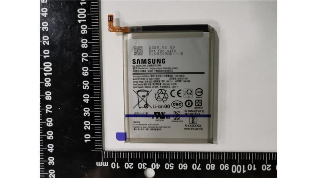 samsung galaxy m31s battery eb bm317aby image safety korea Samsung Galaxy M31s Samsung