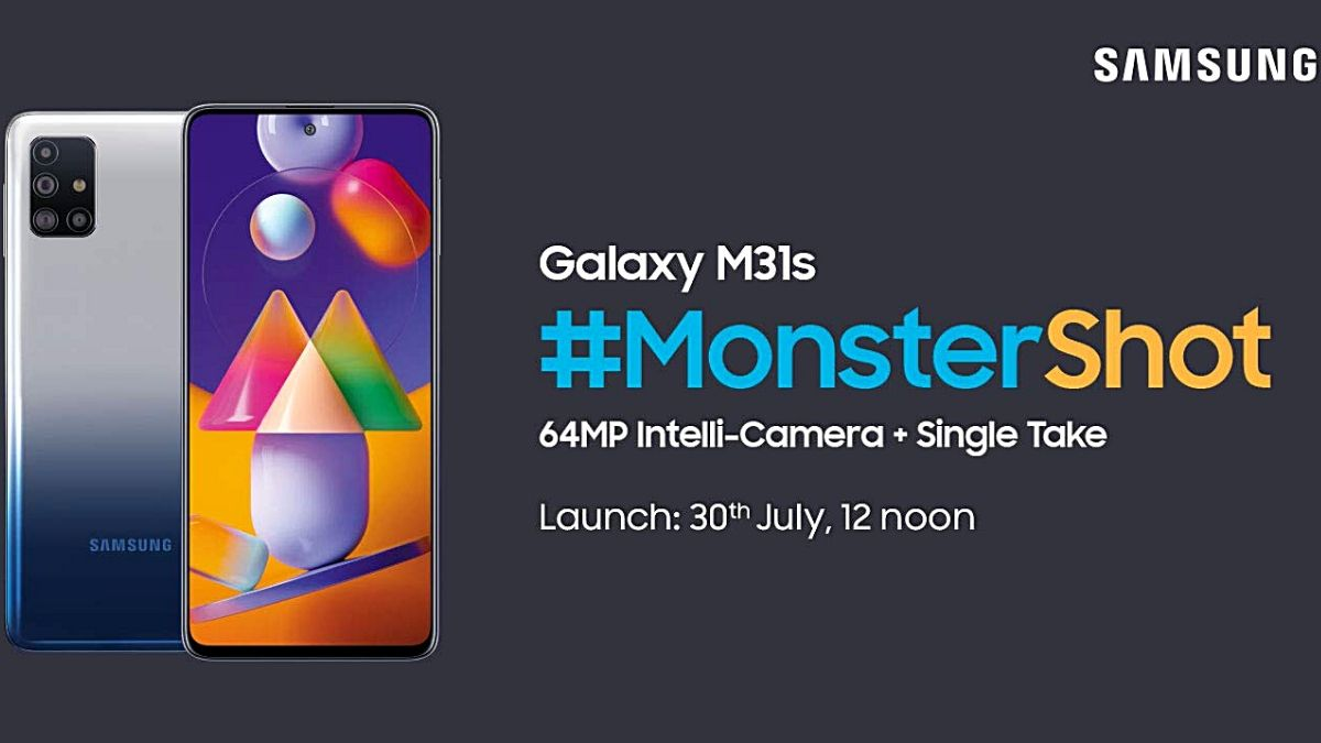 Samsung Galaxy M31s Display, Colour Options, Configurations, and More Tipped Ahead of Launch