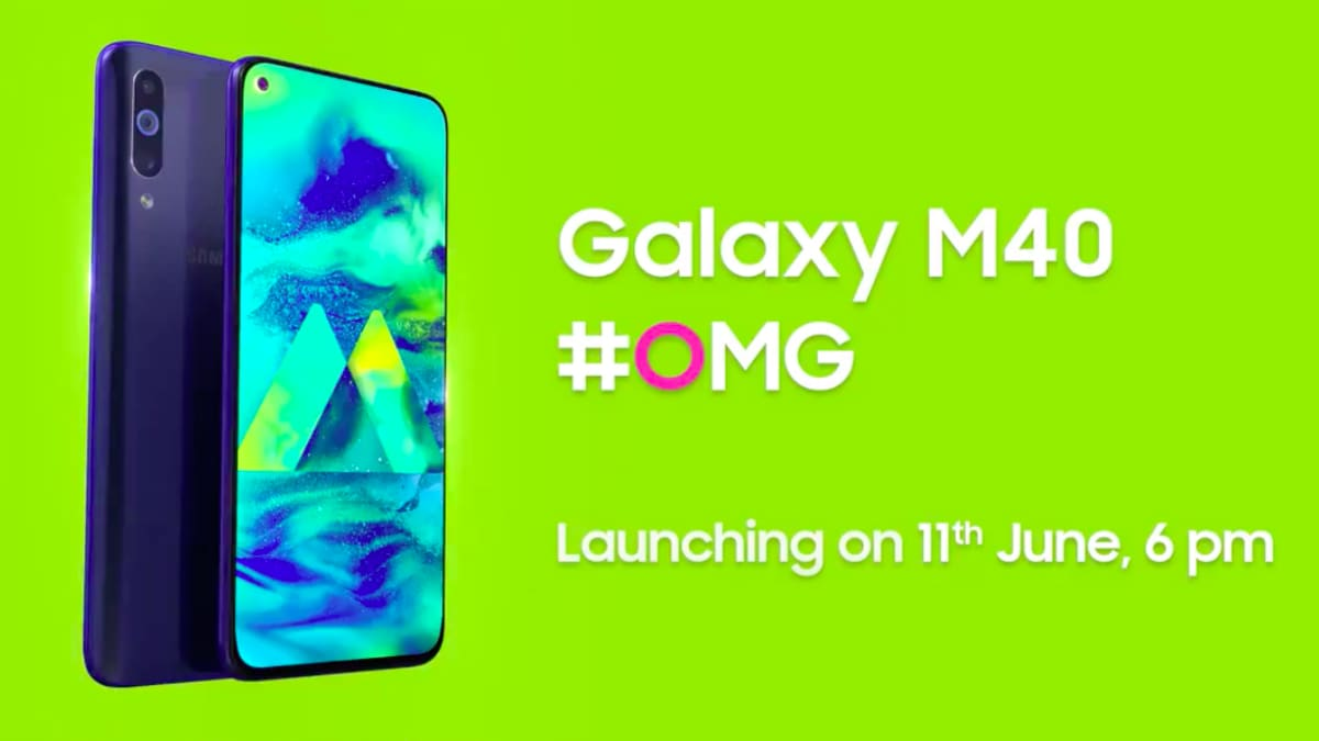 77ea7f60695 Samsung M40 Image Seen on Official Site Ahead of India Launch