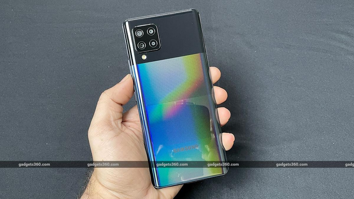 samsung galaxy m42 5G backr Samsung Galaxy M42 5G First Impressions