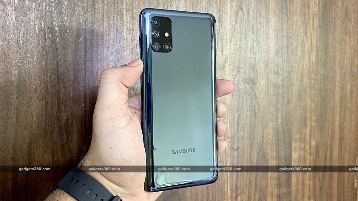 Samsung Galaxy M51 First Impressions Ndtv Gadgets 360