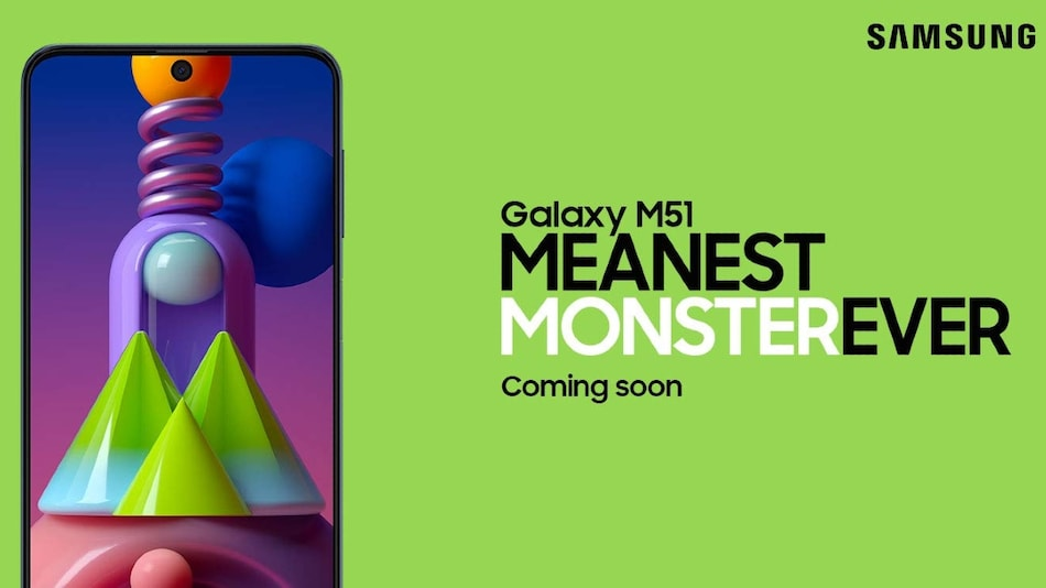 Samsung Galaxy M51 India Launch Teased by Amazon, Quad Rear Cameras Confirmed