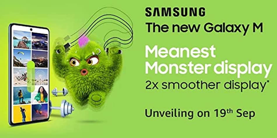 Samsung Galaxy M52 5G India Launch Date Set for September 19, Shows Amazon Teaser