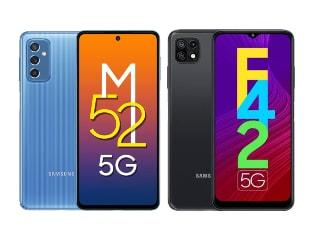 Samsung Galaxy M52 5G, Galaxy F42 5G Go on Sale in India With Amazon, Flipkart Festive Discounts