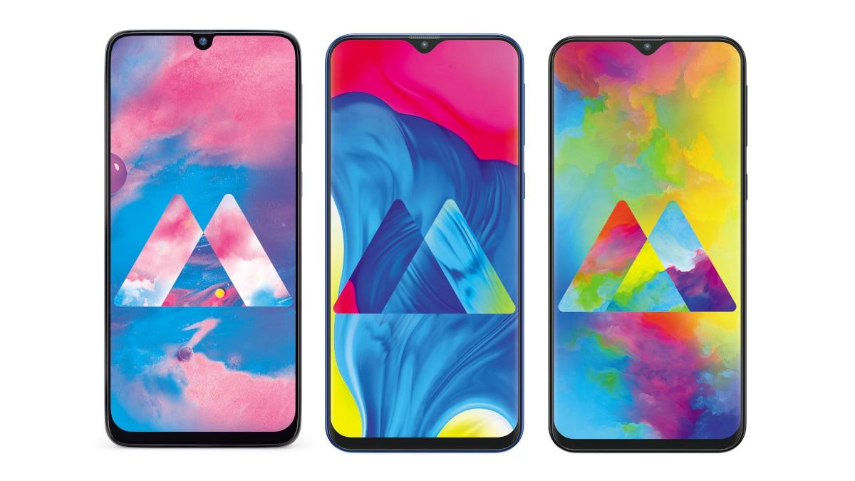 Samsung Galaxy M30, Galaxy M20, Galaxy M10 to Receive
