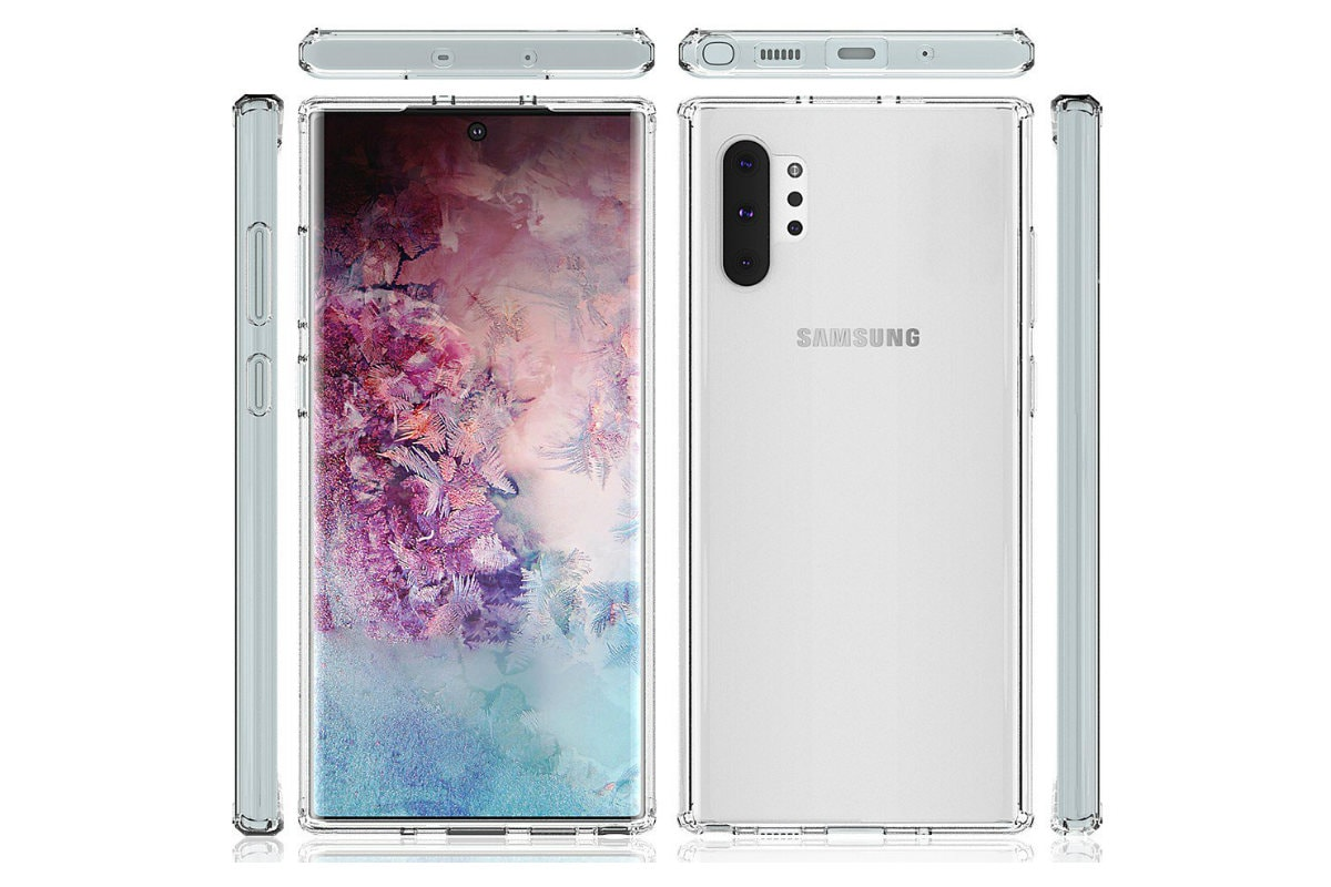 Samsung Galaxy Note 10, Galaxy Note 10+ Alleged Screen Protectors Leak Online, Showing Design