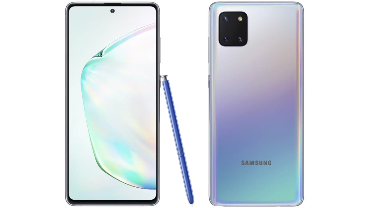 Samsung Galaxy Note 10 Lite Pre-Bookings in India Said to Start Next Week, Price Tipped Again
