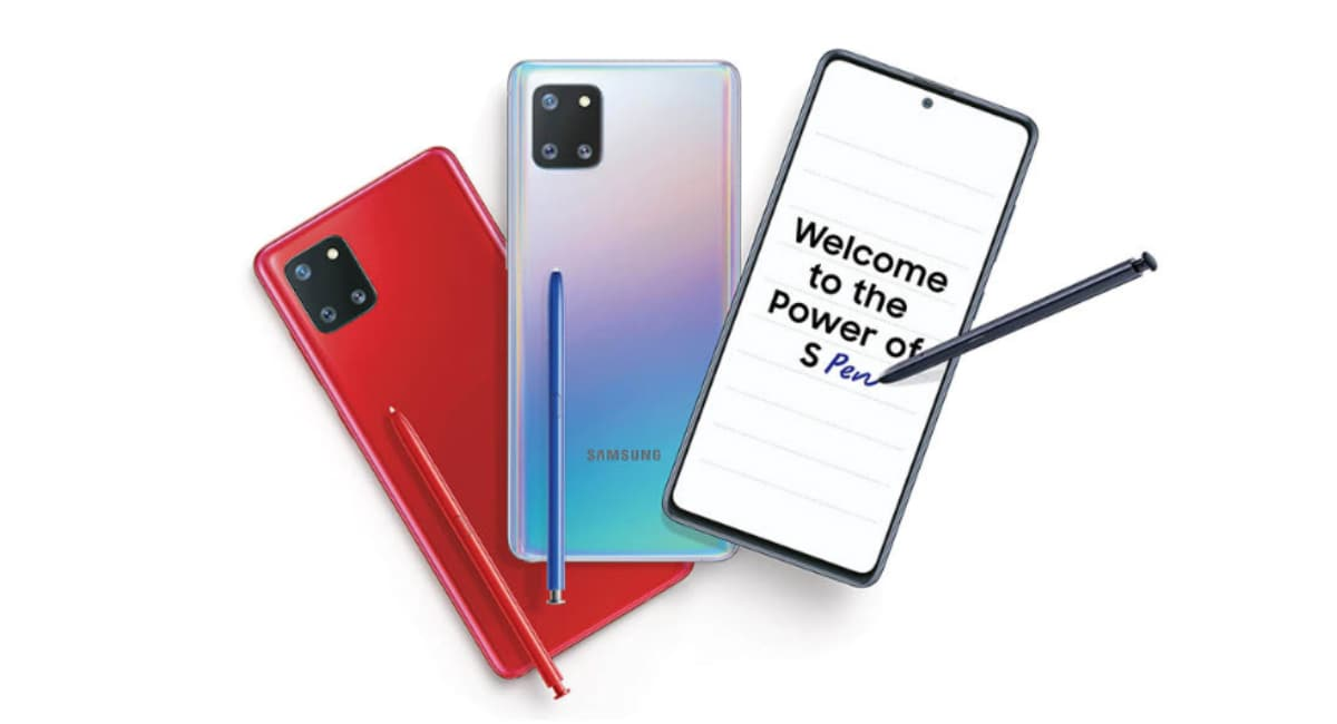 Samsung Galaxy Note 10 Lite Starts Receiving New Update With Improved Camera and Battery Performance in India