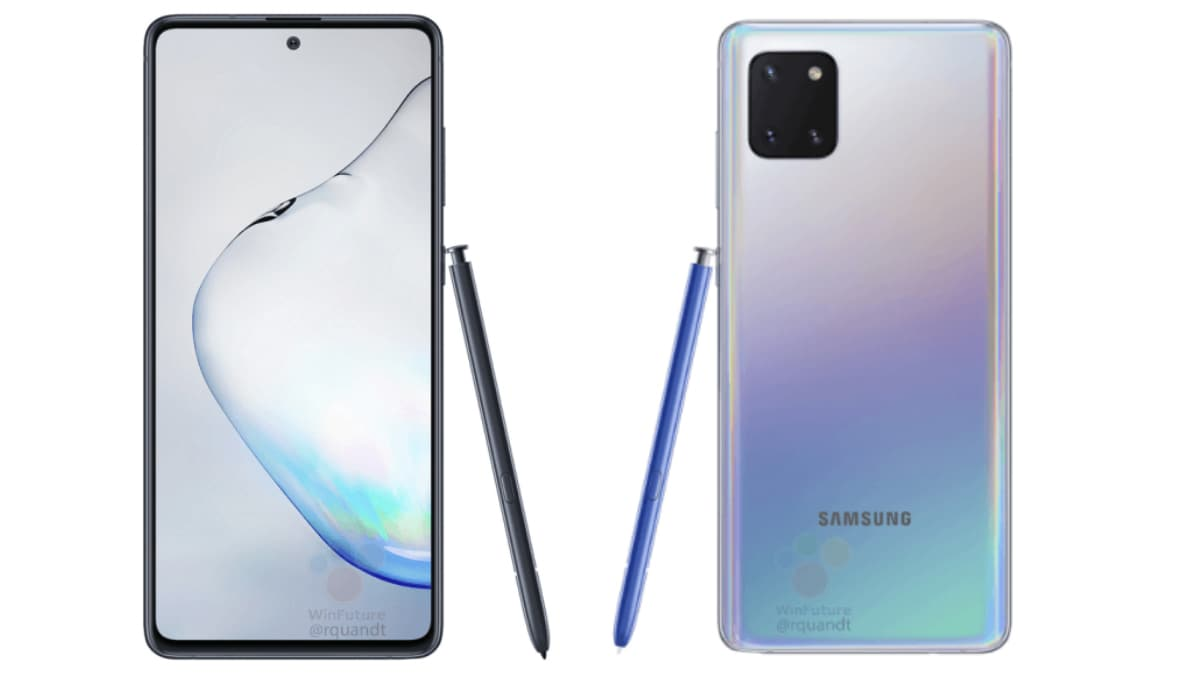 Samsung Galaxy Note 10 Lite Price Leaked Ahead of Expected Launch This Month