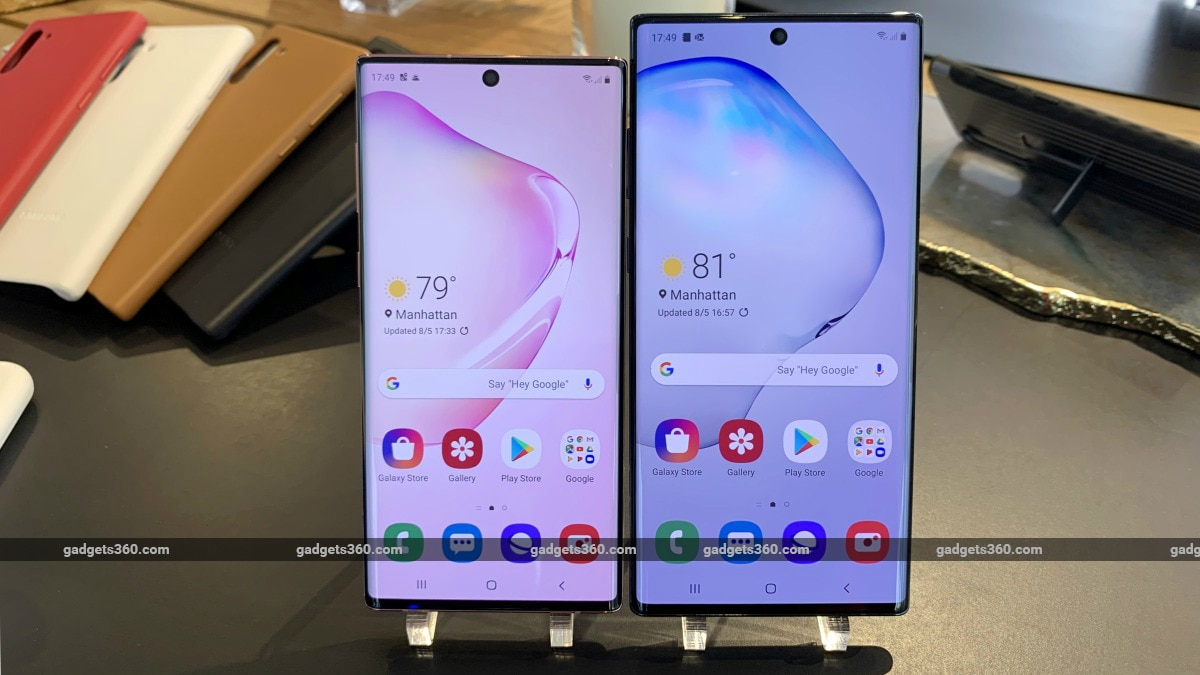 Samsung Galaxy Note 10, Galaxy Note 10+ Sale Offers Announced in India
