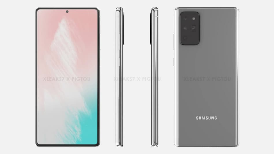 Samsung Galaxy Note 20 Renders Leaked Online, Virtual Launch Event Tipped for August