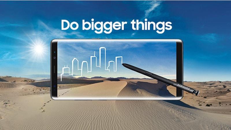 Samsung Galaxy Note 8 के लिए भारत में 2.5 लाख से ज़्यादा रजिस्ट्रेशन की खबर
