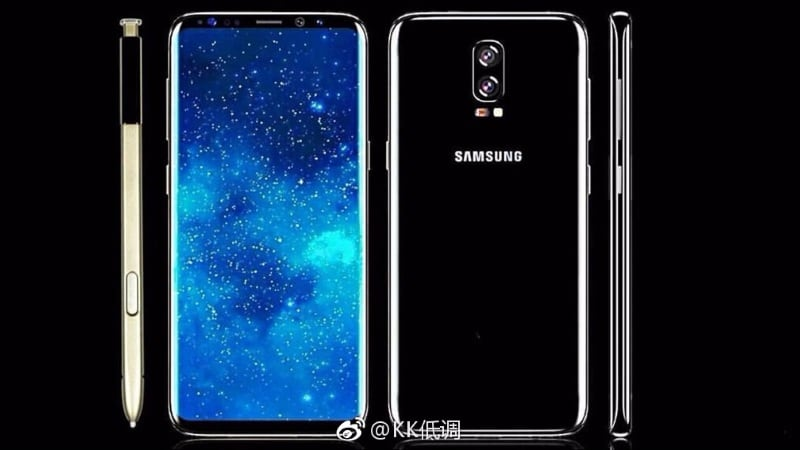 Samsung Galaxy Note 8 Tipped to Sport Dual Camera Setup, 6.3-Inch Display