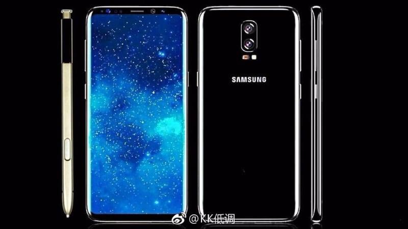 Samsung Galaxy Note 8 Won't Get a Display-Integrated Fingerprint Sensor: Report