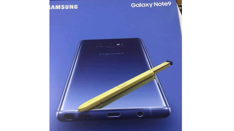 samsung galaxy note 9 twitter ice universe Samsung Galaxy Note 9
