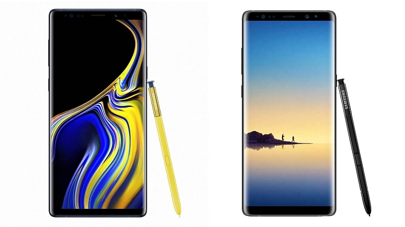 Samsung Galaxy Note 9 vs Galaxy Note 8: What's New and