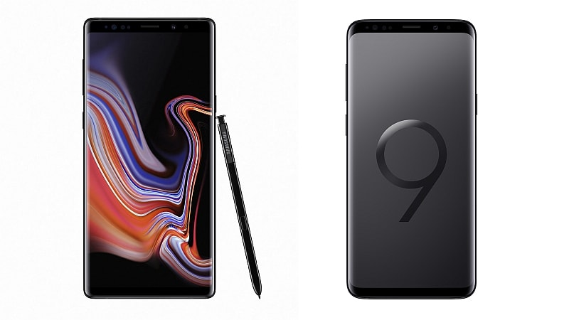 Samsung Galaxy Note 9 vs Samsung Galaxy S9+: Price, Specifications Compared