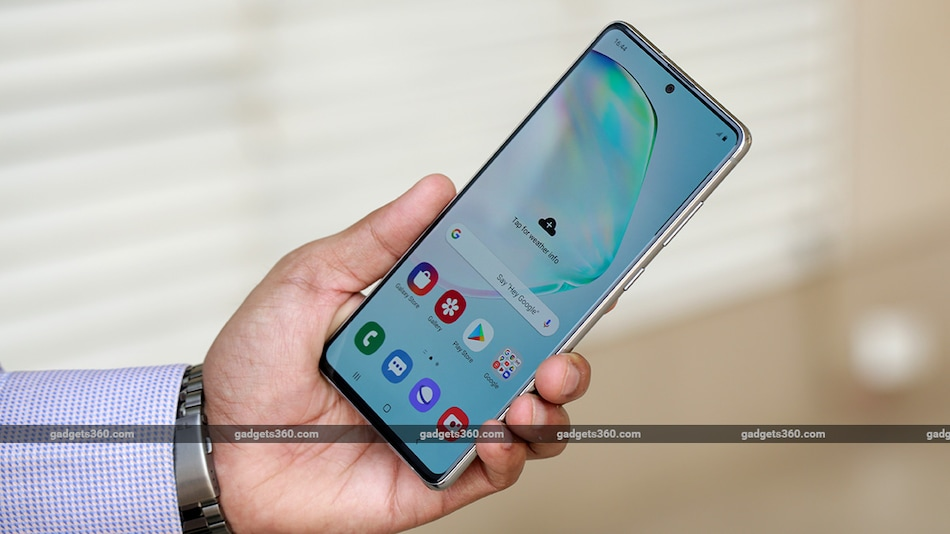 Samsung Galaxy Note 10 Lite Now Available for an Effective Price of Rs. 34,999