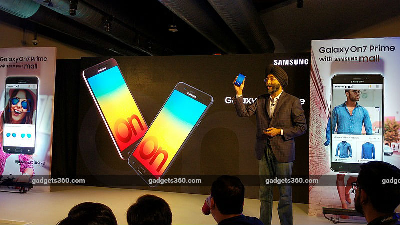 Samsung Galaxy On7 Prime With Samsung Mall Launched in India: Price, Specifications