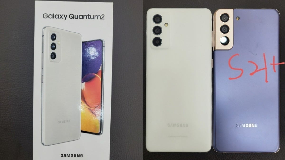 Samsung Galaxy Quantum 2 aka Galaxy A82 5G Launch Tipped for April 23,  Specifications and Design Leak | Technology News