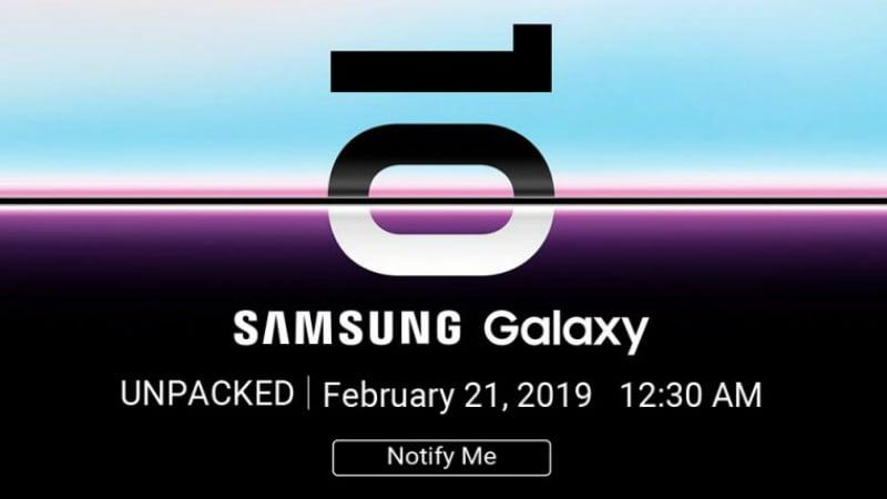 Samsung Galaxy S10 का टीजर फ्लिपकार्ट पर जारी