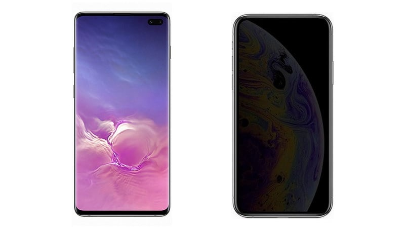 Samsung Galaxy S10+ Versus iPhone XS Max: How They Measure