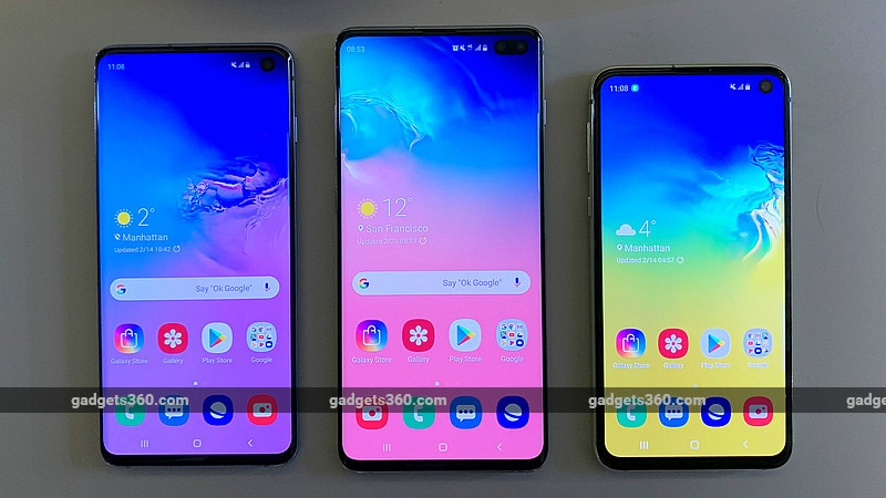 Samsung Galaxy S10, Galaxy S10+, Galaxy S10e Start Receiving Software Update with March Security Patch, Improved Wireless Powershare