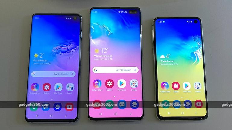 Samsung Galaxy S10, Galaxy S10+ और Galaxy S10e लॉन्च हुए भारत में, जानें कीमतें