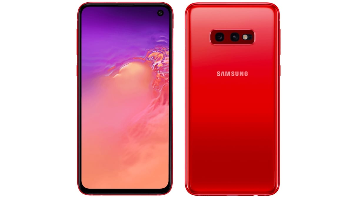 Samsung Galaxy S10e Cardinal Red Renders Surface Online, Tipped to Launch Soon