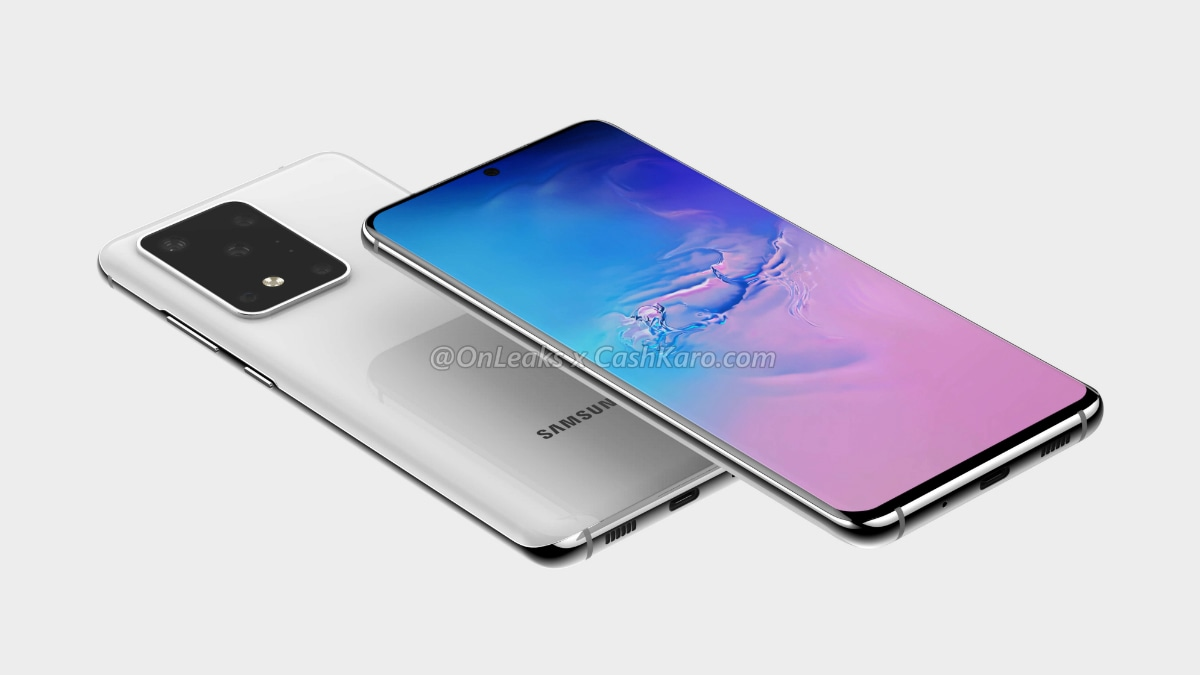 samsung galaxy s11 plus render onleaks cashkaro Samsung Galaxy S11 Plus
