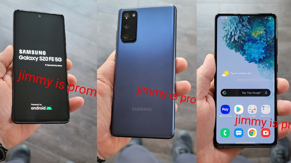 Samsung Galaxy S20 FE 5G Live Images, Key Specifications Surface Online